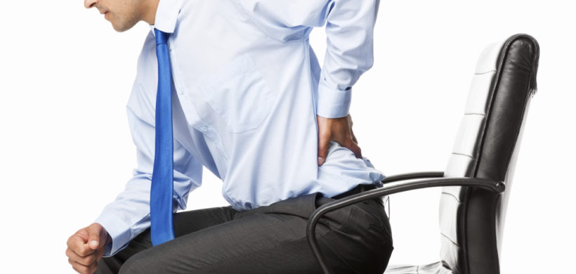 Under Pressure: Poor Posture Puts More Pressure On Your Spine